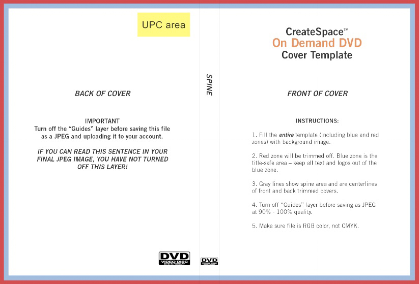 dvd back cover template | goseqh.tk